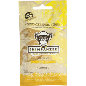Chimpanzee Gunpowder - Nutrition sport - citron 20 x 30 g